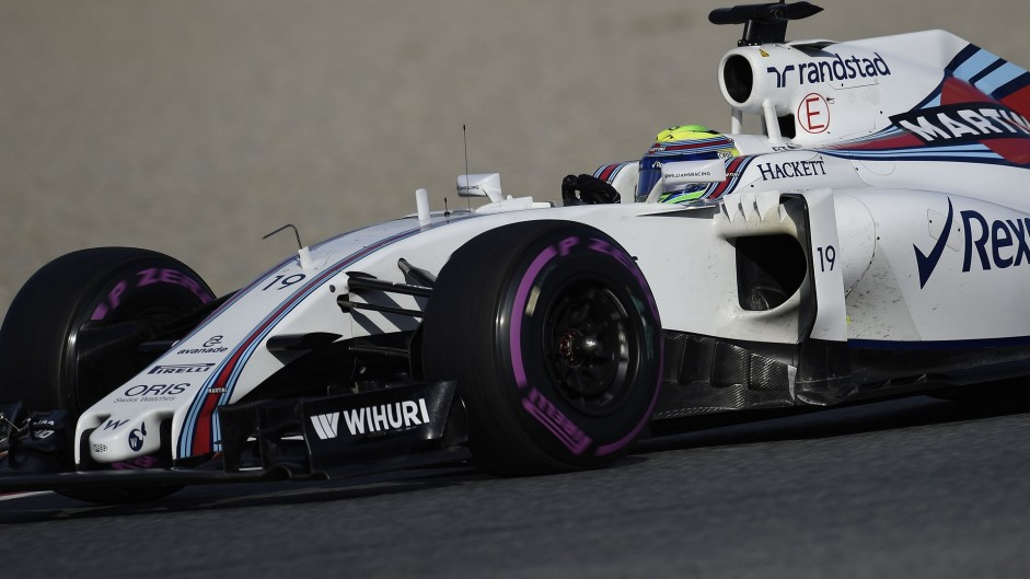 Felipe Massa, Williams, Circuit de Catalunya, 2016