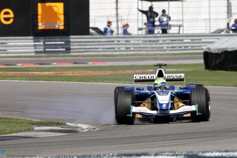 Felipe Massa, Sauber, Indianapolis, 2005