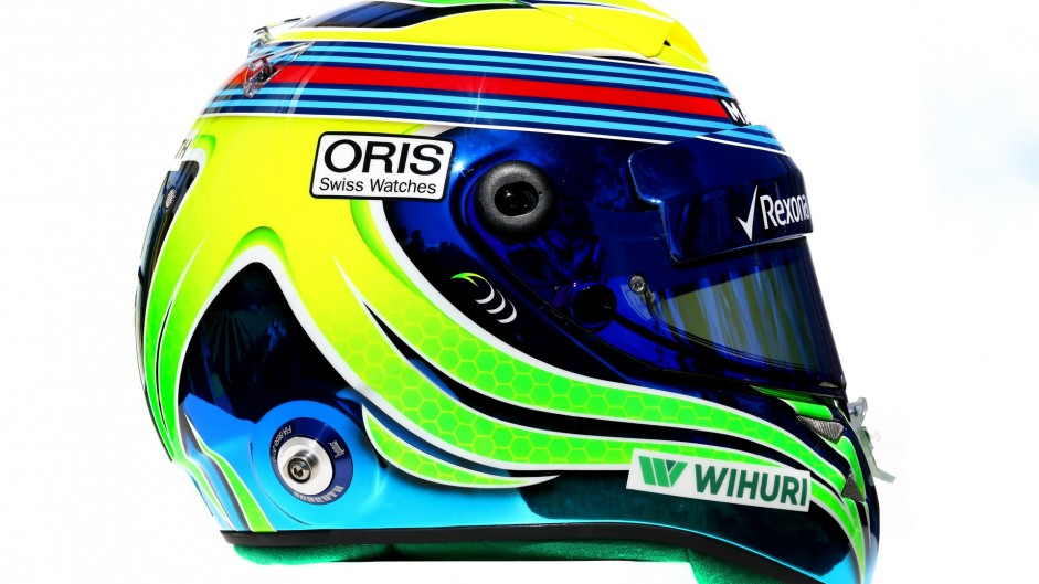 Felipe Massa helmet, 2016