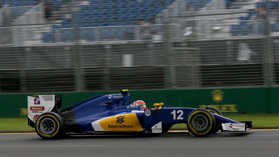 Felipe Nasr, Sauber, Albert Park, 2016