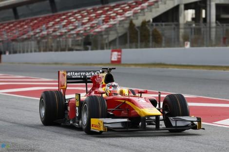 Norman Nato, Racing Engineering, Circuit de Catalunya, GP2, 2016