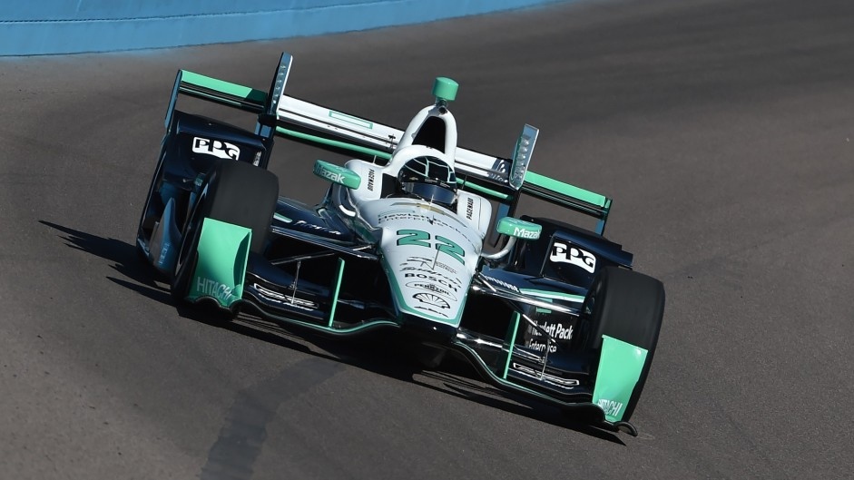 Simon Pagenaud, Penske, IndyCar, Phoenix, 2016