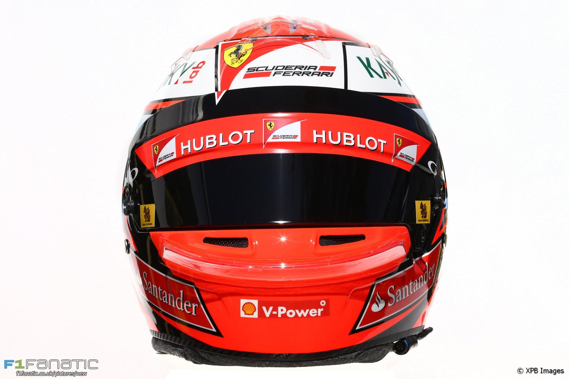 Kimi Raikkonen helmet, 2016