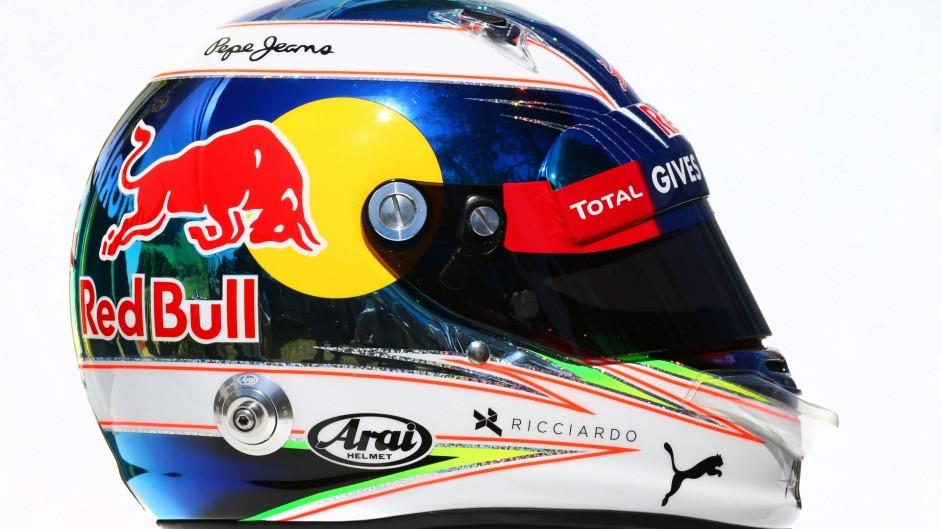 Daniel Ricciardo helmet, 2016