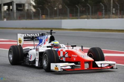 Oliver Rowland, MP, Circuit de Catalunya, GP2, 2016