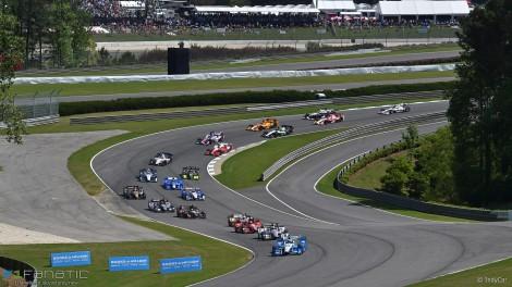 Start, IndyCar, Barber Motorsports Park, 2016