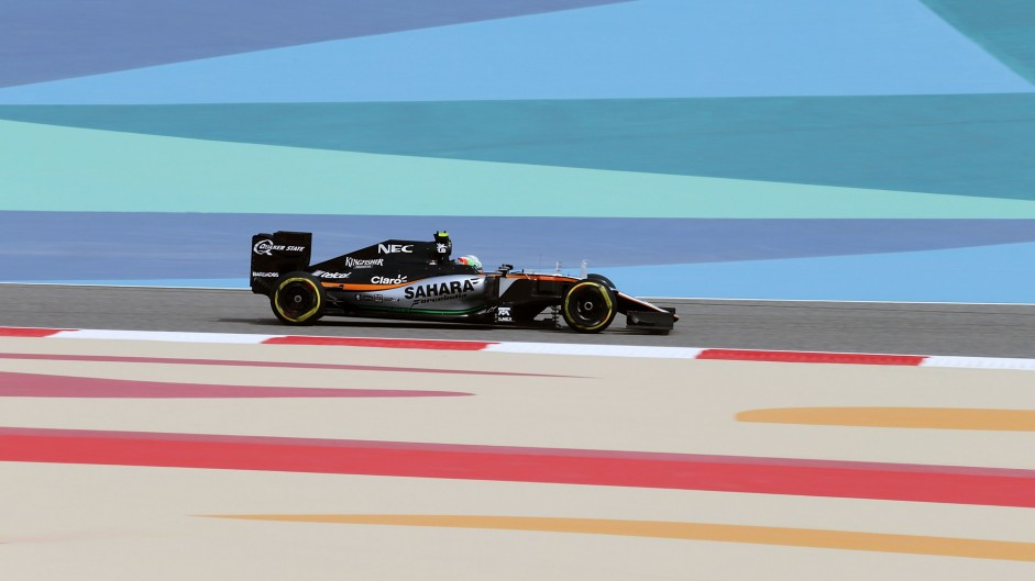Alfonso Celis, Force India, Bahrain International Circuit, 2016