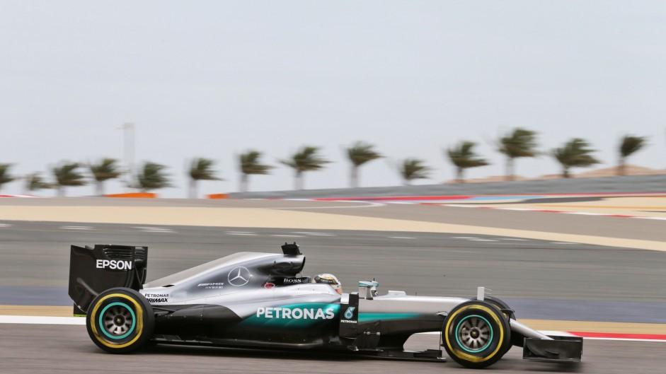 Lewis Hamilton, Mercedes, Bahrain International Circuit, 2016