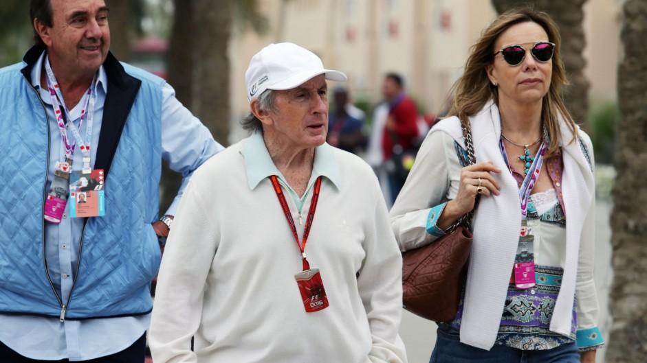 Jackie Stewart, Bahrain International Circuit, 2016