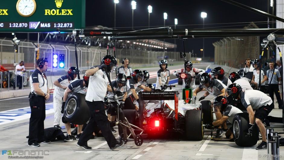Haas mechanic credited for saving Grosjean's race