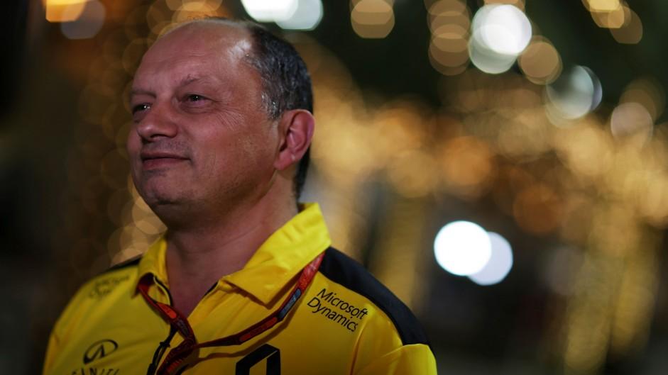 Renault's Vasseur steps down