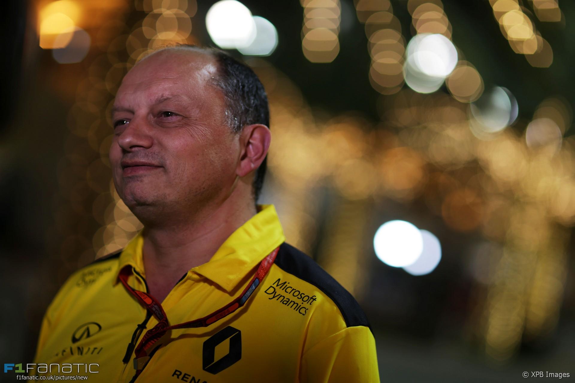 Frederic Vasseur, Renault, Bahrain International Circuit, 2016