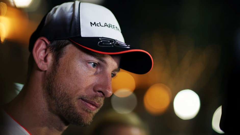 Button targets Q3 after third-fastest time