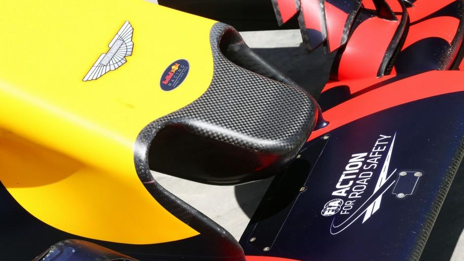 Red Bull RB12 nose, Bahrain International Circuit, 2016