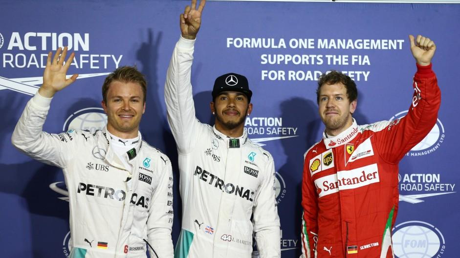 2016 Bahrain Grand Prix grid