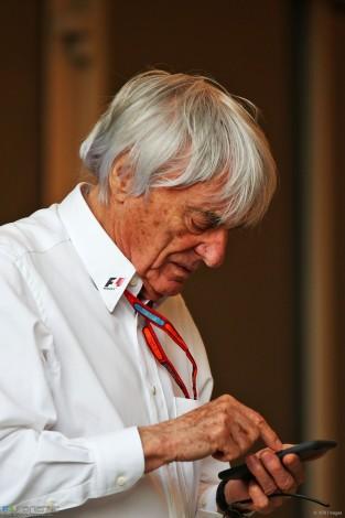 Bernie Ecclestone, Bahrain International Circuit, 2016