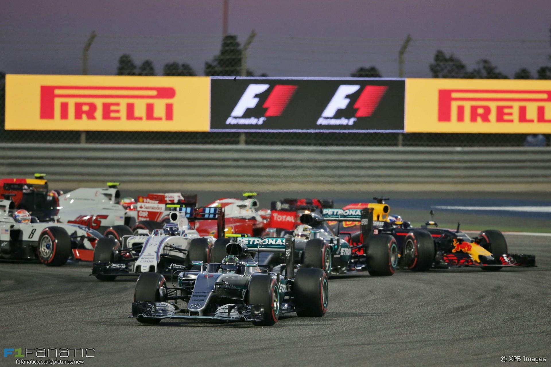 formel 1 start bahrain