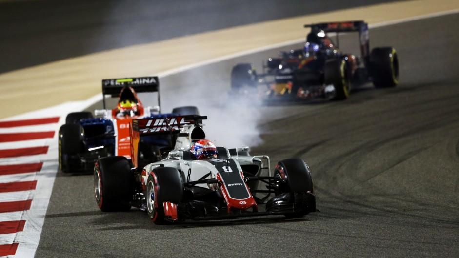 """Grosjean hails """"two unbelievable races"""" for Haas"""