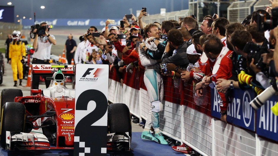 Nico Rosberg, Mercedes, Bahrain International Circuit, 2016