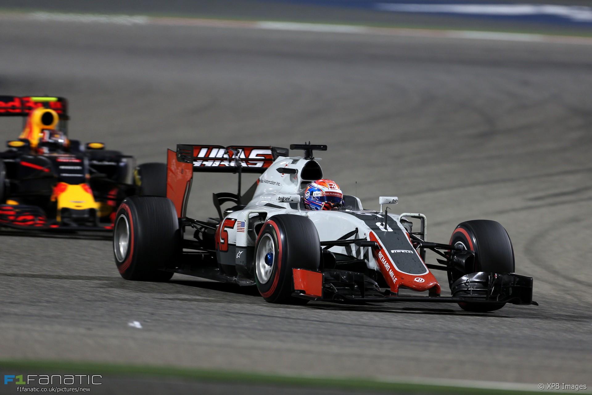 Romain Grosjean, Haas, Bahrain International Circuit, 2016