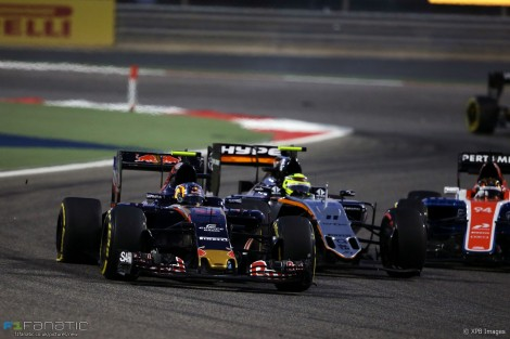 Carlos Sainz Jnr, Toro Rosso, Bahrain International Circuit, 2016