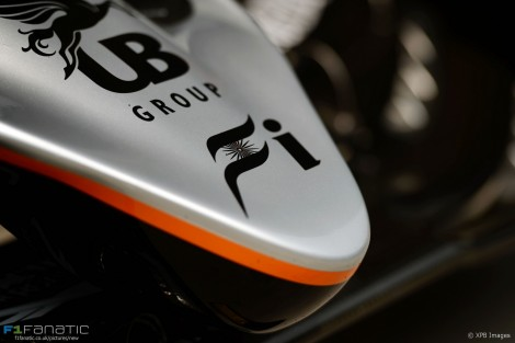 Force India, Shanghai International Circuit, 2016
