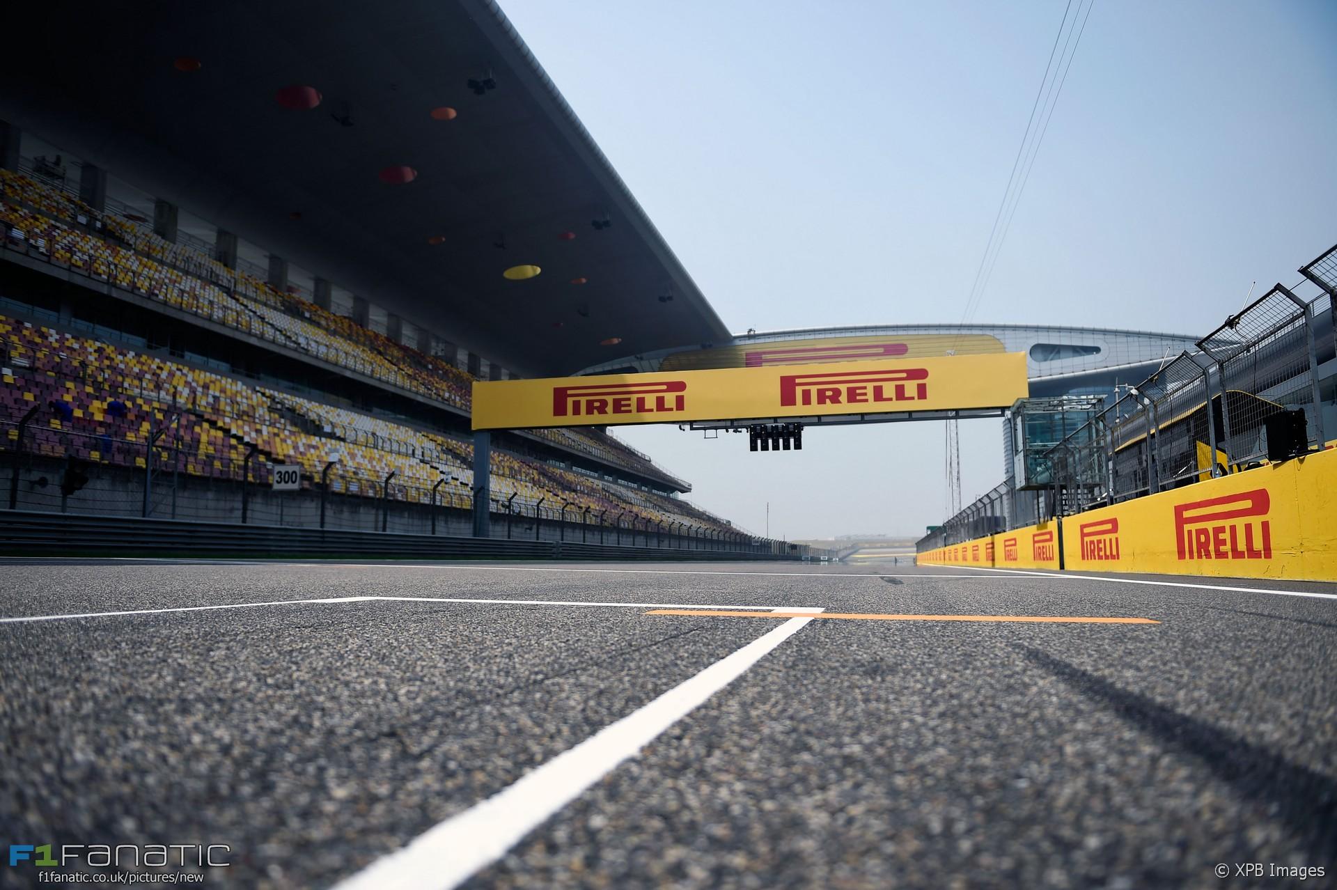 Start finish straight shanghai international circuit for Watkins motor lines tracking