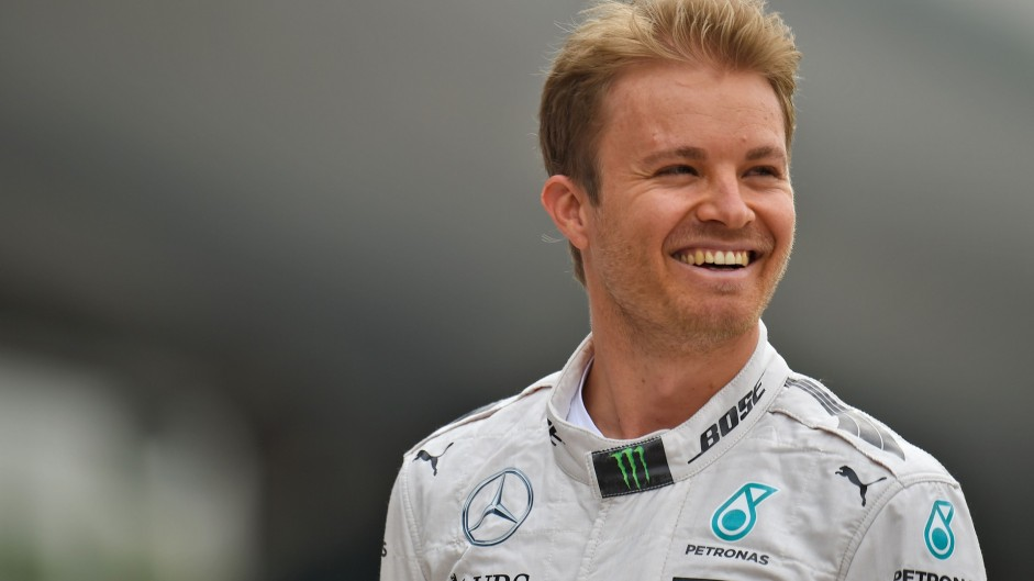 Rosberg quickest as tyre failures disrupt practice
