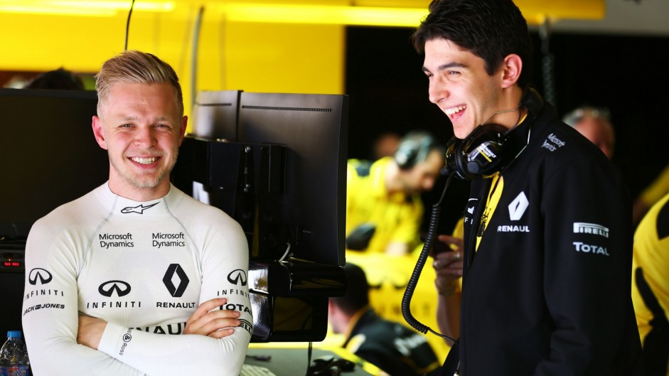 Renault confirms Ocon and Magnussen for post-race test