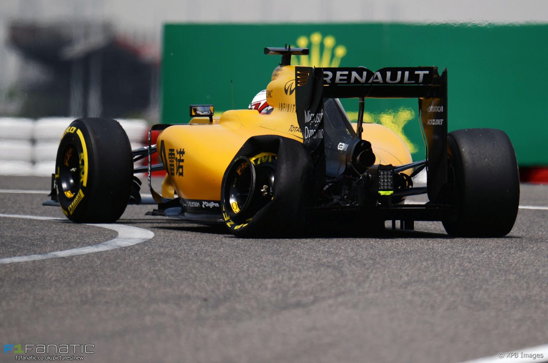 Kevin Magnussen, Renault, Shanghai International Circuit, 2016