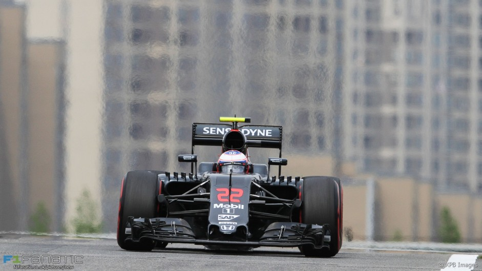"""Button unhappy with """"massively high"""" tyre pressures"""