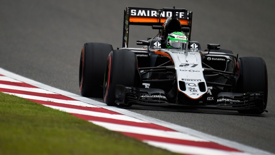 Three-place grid penalty for Hulkenberg after wheel mishap