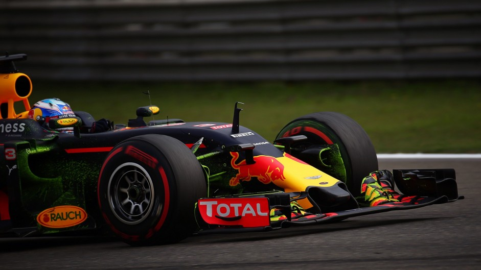Ricciardo surprised by 'awesome' front row start