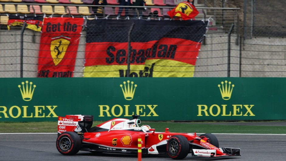 Vettel rues mistakes after qualifying gamble