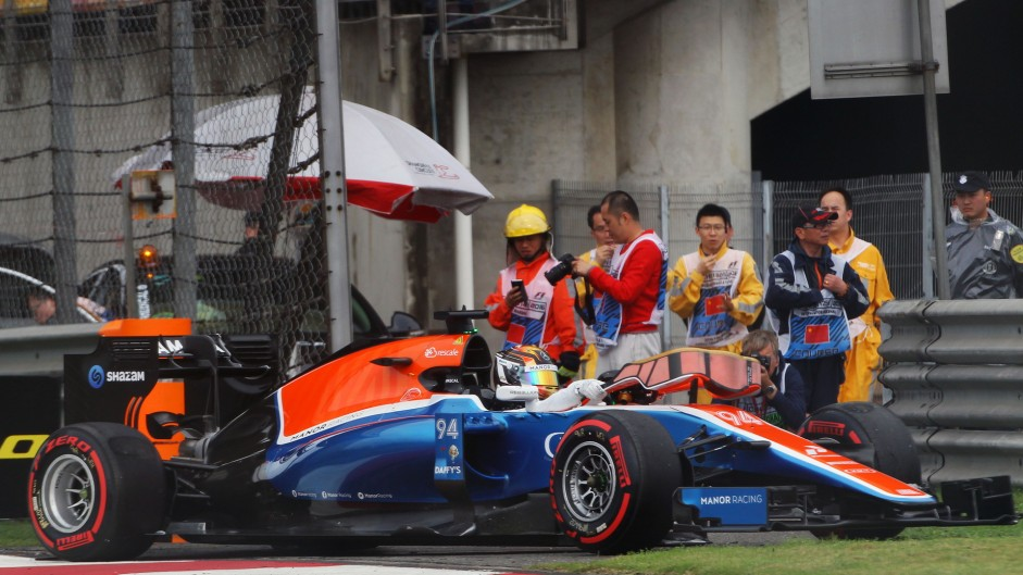 Pascal Wehrlein, Manor, Shanghai International Circuit, 2016