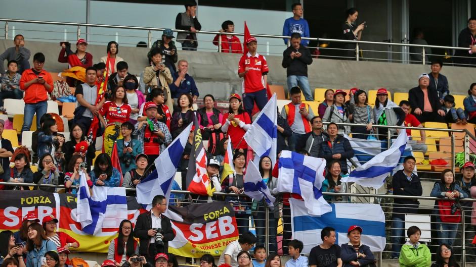 Fans, Shanghai International Circuit, 2016