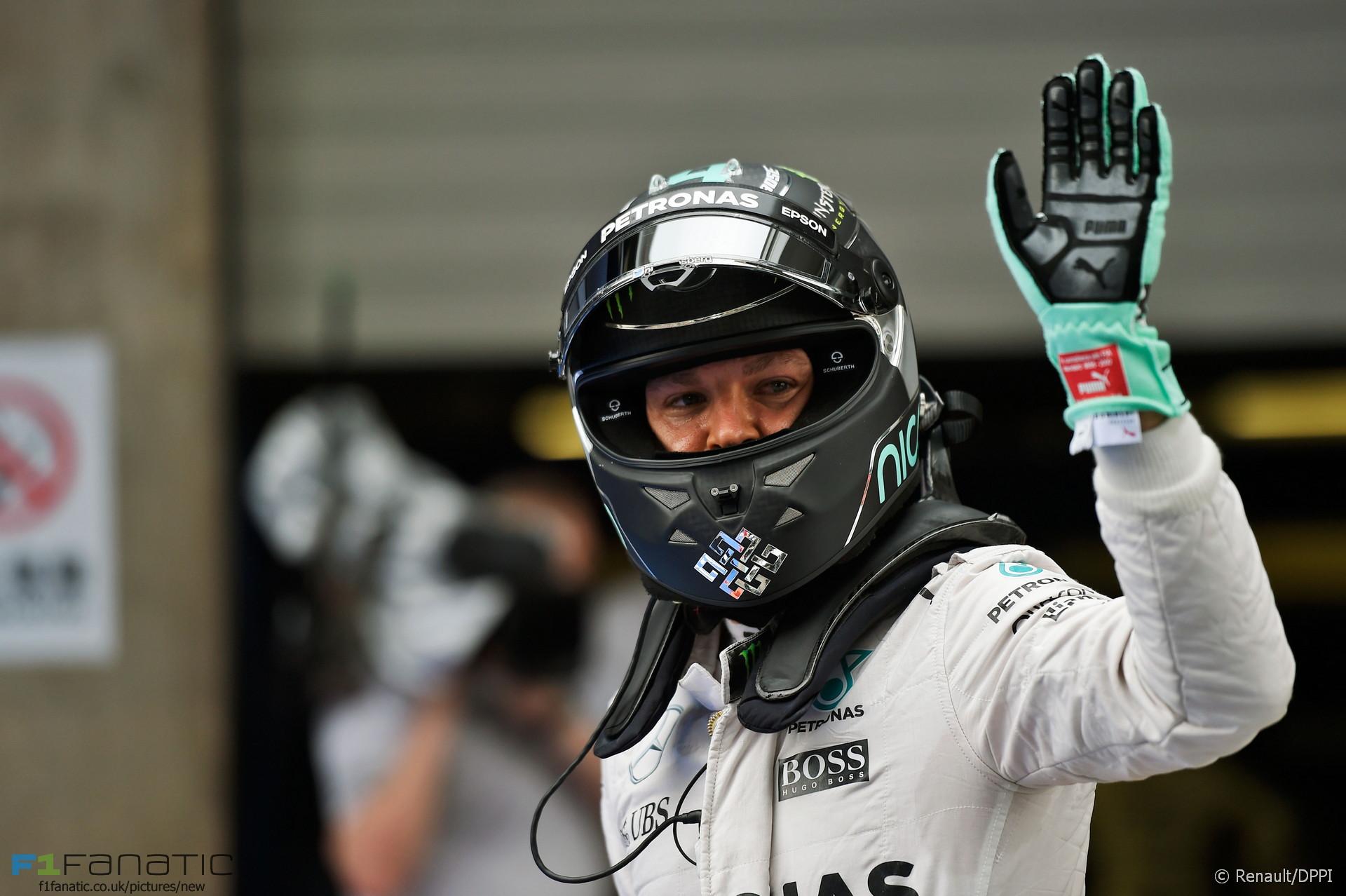Nico Rosberg, Mercedes, Shanghai International Circuit, 2016