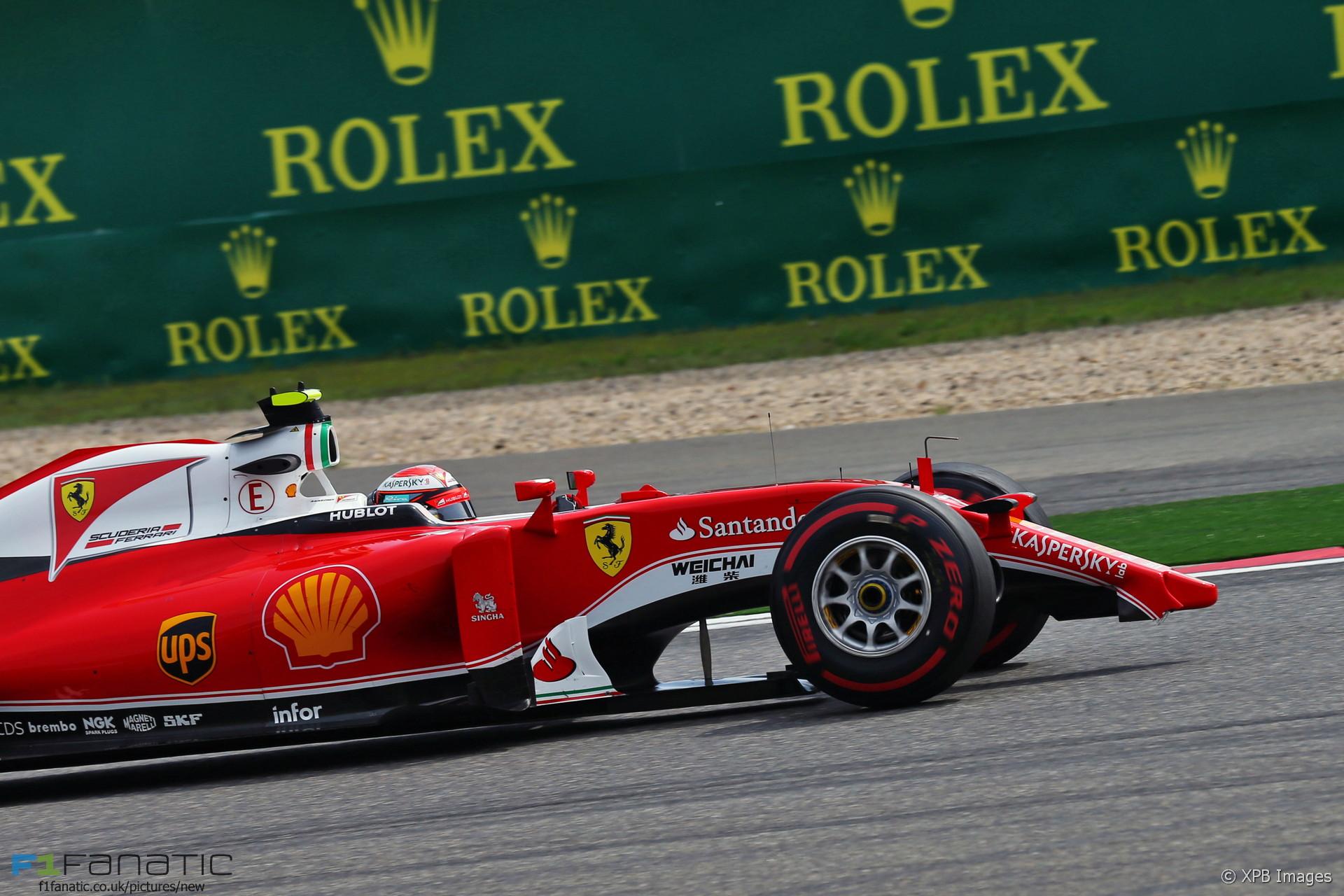 Kimi Raikkonen, Ferrari, Shanghai International Circuit, 2016