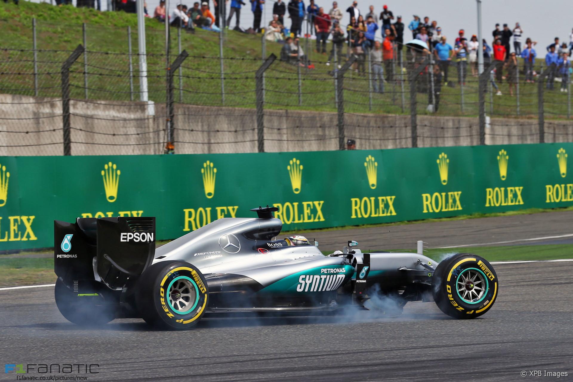 Lewis Hamilton, Mercedes, Shanghai International Circuit, 2016