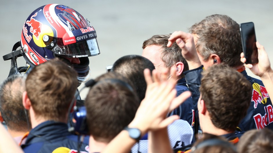 Kvyat: turn one move 'paid off' with podium