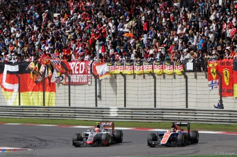 Esteban Gutierrez, Haas, Shanghai International Circuit, 2016