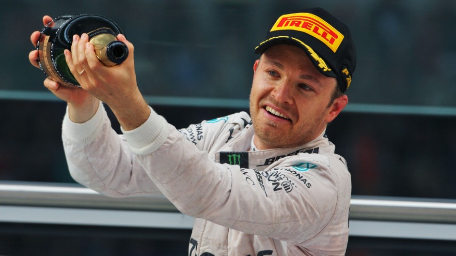 Rosberg joins Vettel, Schumacher and Ascari on six-in-a-row