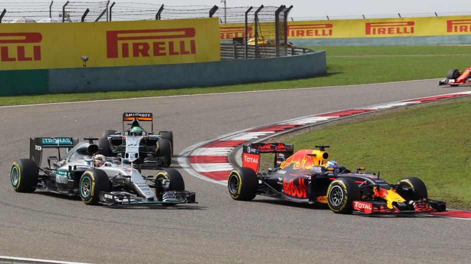 2016 Chinese Grand Prix lap charts