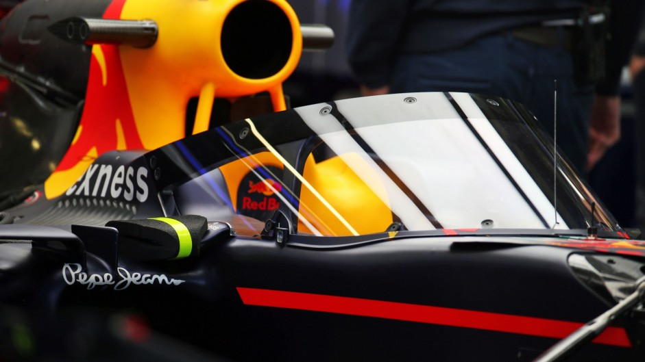 Red Bull's 'Aeroscreen' cockpit canopy revealed in Russia