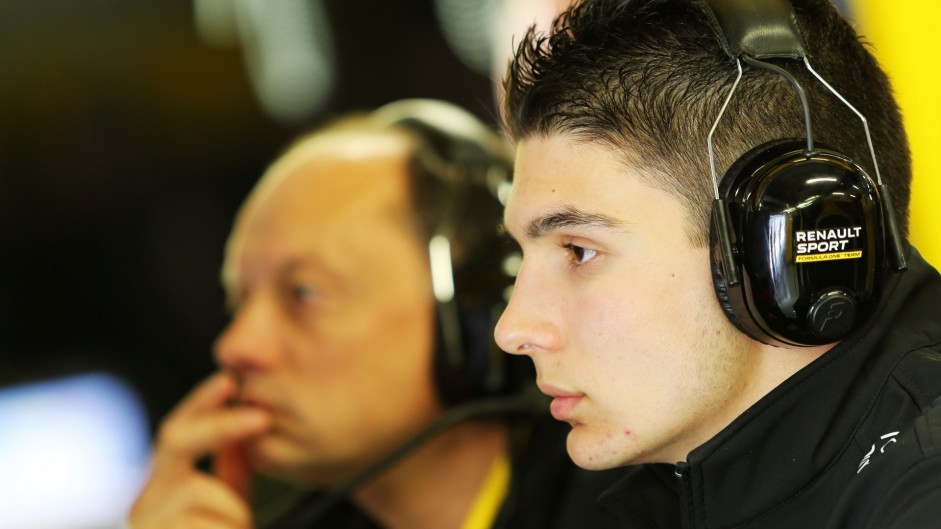 Ocon to make practice return with Renault in Spain