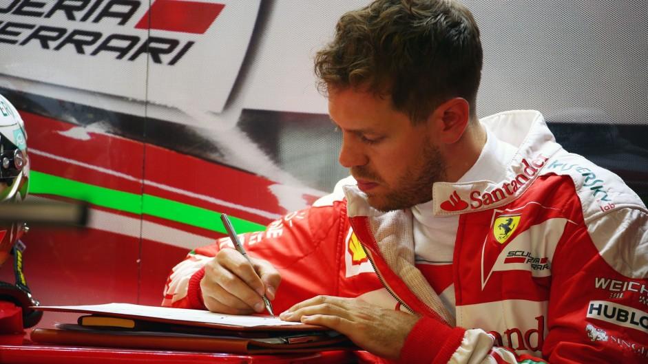 Caption Competition 105: Sebastian Vettel