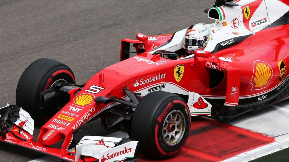 Vettel still confident in Ferrari's race pace