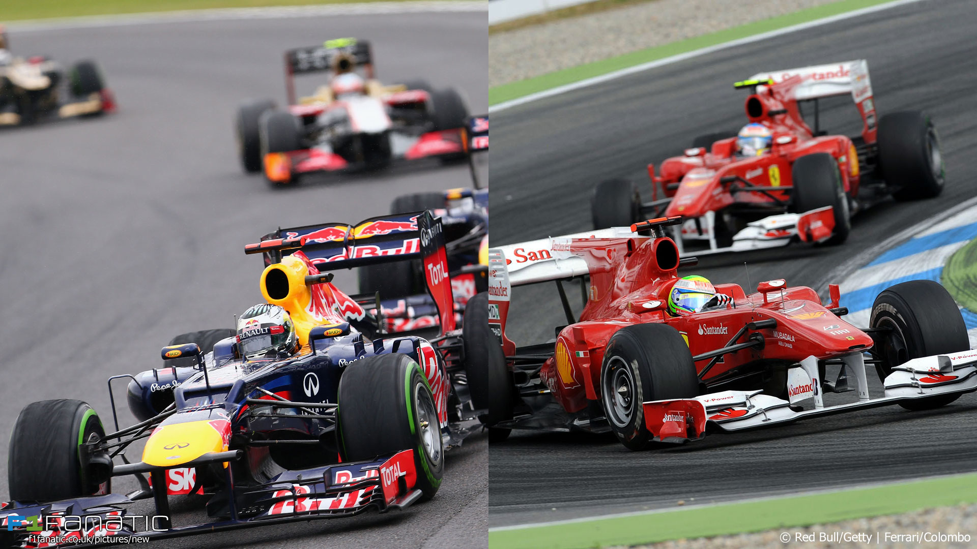 2012 Brazilian and 2010 German Grands Prix
