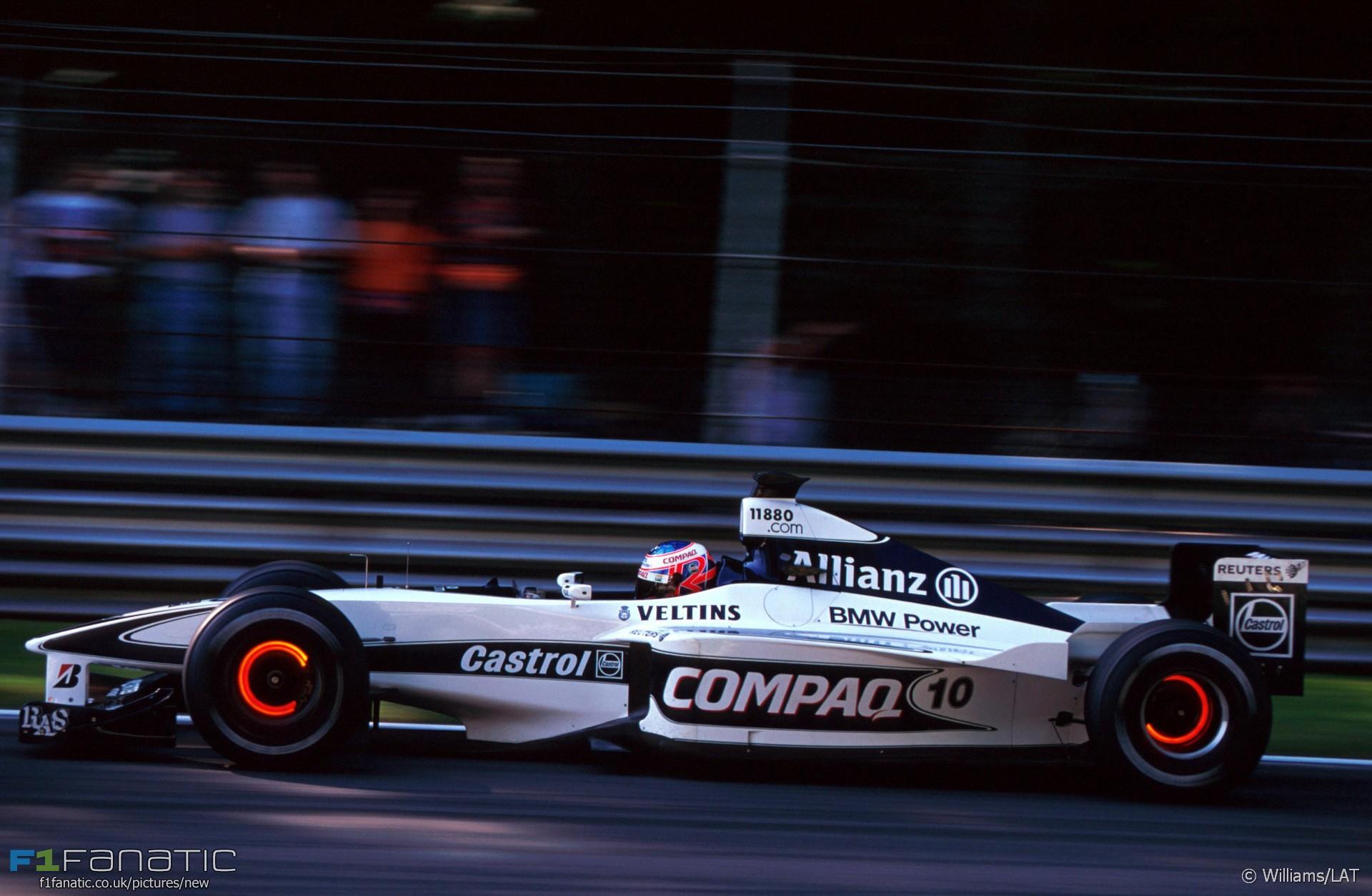 Jenson Button, Williams, Monza, 2000