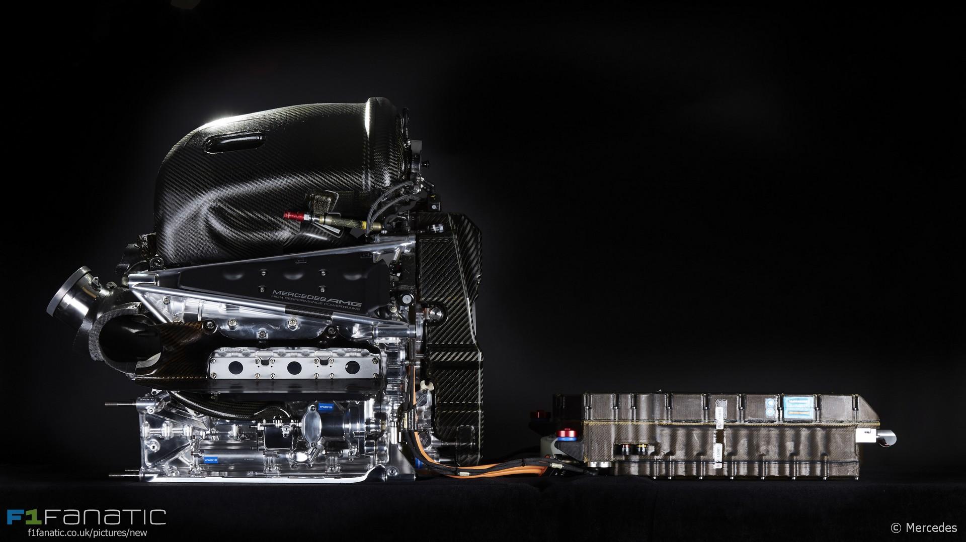Mercedes PU106B power unit, 2016